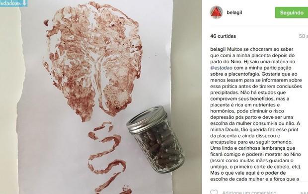 Bela Gil  (Foto: Instagram / Reprodução)