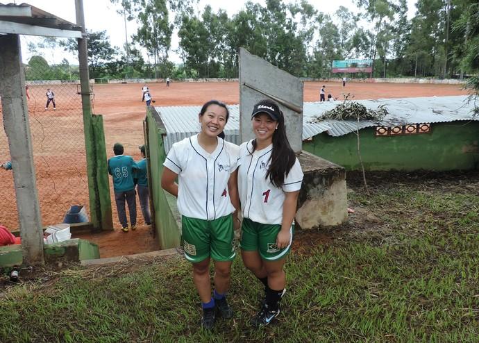 Mayra (Dir.) e Verônika (Esq.) representam Brasil no Pan-Americano (Foto: Kawanny Barros / GloboEsporte.com)