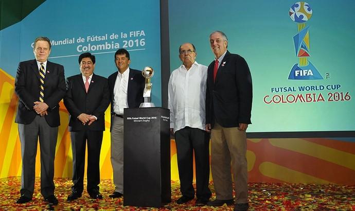 Lançamento Mundial de Futsal Colômbia (Foto: Divulgação)