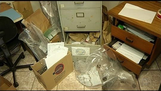 Criminosos furtam equipamentos e violam materiais periciados no IML de Jataí