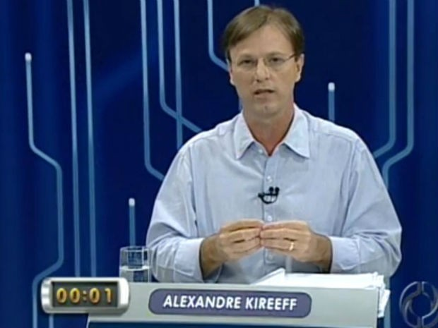 Alexandre Kireeff foi eleito neste domingo (28) (Foto: Reprodução/RPCTV)
