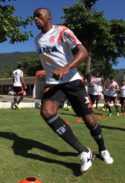 Marcelo, Ninho do Urubu, Flamengo (Foto: Gilvan de Souza/ Fla Imagem)