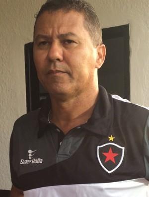 ramiro souza, coordenador, botafogo-pb (Foto: Lucas Barros / GloboEsporte.com/pb)