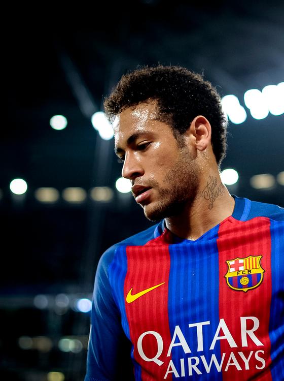 O jogador Neymar (Foto:  Nicolò Campo/LightRocket via Getty Images)