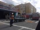 Motociclista fica ferido em acidente no bairro Manejo, em Resende