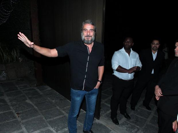 Alexandre Borges em festa na Zona Sul do Rio (Foto: Marcello Sá Barretto/ Ag. News)