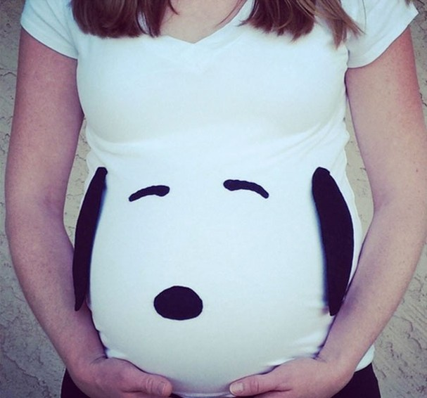 Fantasia de Halloween para grávidas (Foto:  )