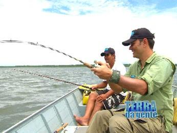 Neste sábado (27) tem muita pesca e habilidade da ponta da linha. (Foto: Reprodução/TVCA)