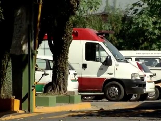 Guarujá, SP, fica sem serviço de atendimento do Samu (Foto: Reprodução/TV Tribuna)
