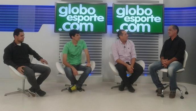 Entrevist técnico do Central, Celso Teixeira (Foto: Taiguara Rangel / GloboEsporte.com)
