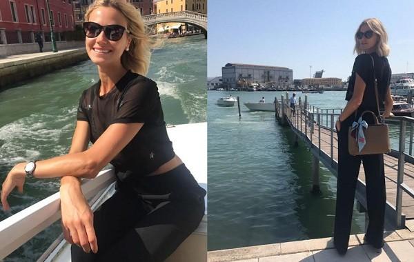 """Kuerten tem aproveitado os momentos de folga para """"turistar"""" em Veneza   (Foto: Divulgação)"""