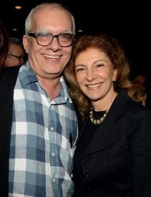 Artur Xexeo e Marília Pêra (Foto: Divulgação/Cristina Granato)