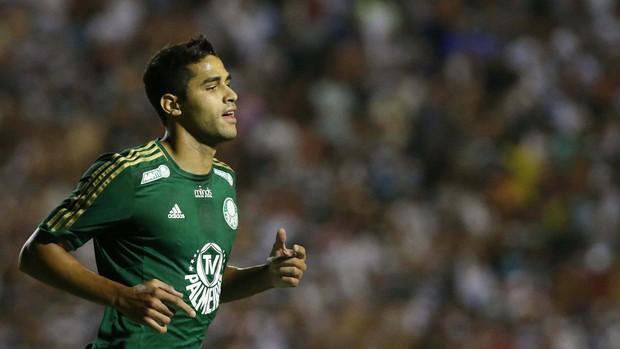 Alan Kardec gol Palmeiras (Foto: Marcos Bezerra / Ag. Estado)