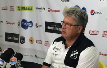 """""""Dói em todo mundo"""", diz Geninho após queda do ABC na Copa do Brasil"""