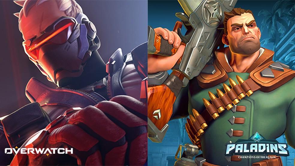 Overwatch x Paladins: conheça as diferenças entre os games (Foto: Reprodução/Murilo Molina)