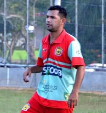 Zé Marco, técnico do Galvez (Foto: Nathacha Albuquerque)