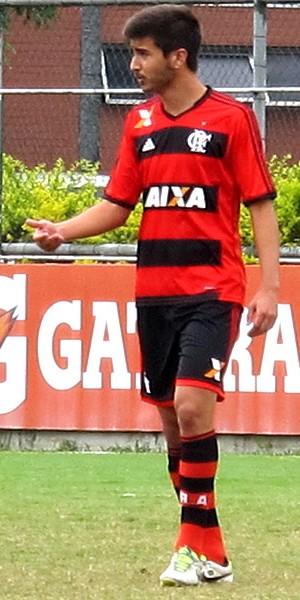 Mattheus flamengo bangu amistoso (Foto: Richard Souza)