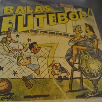 Album Copa de 50 (Foto: Vinícius Bueno)