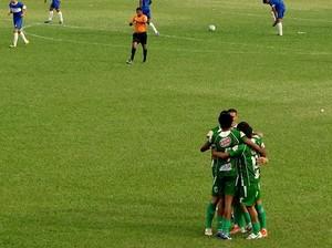 Guaraí em vitória contra o São José na Segundona (Foto: Divulgação/TV Lobão)