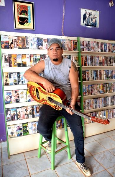 Maelson Cardoso, músico acreano (Foto: Nathacha Albuquerque)