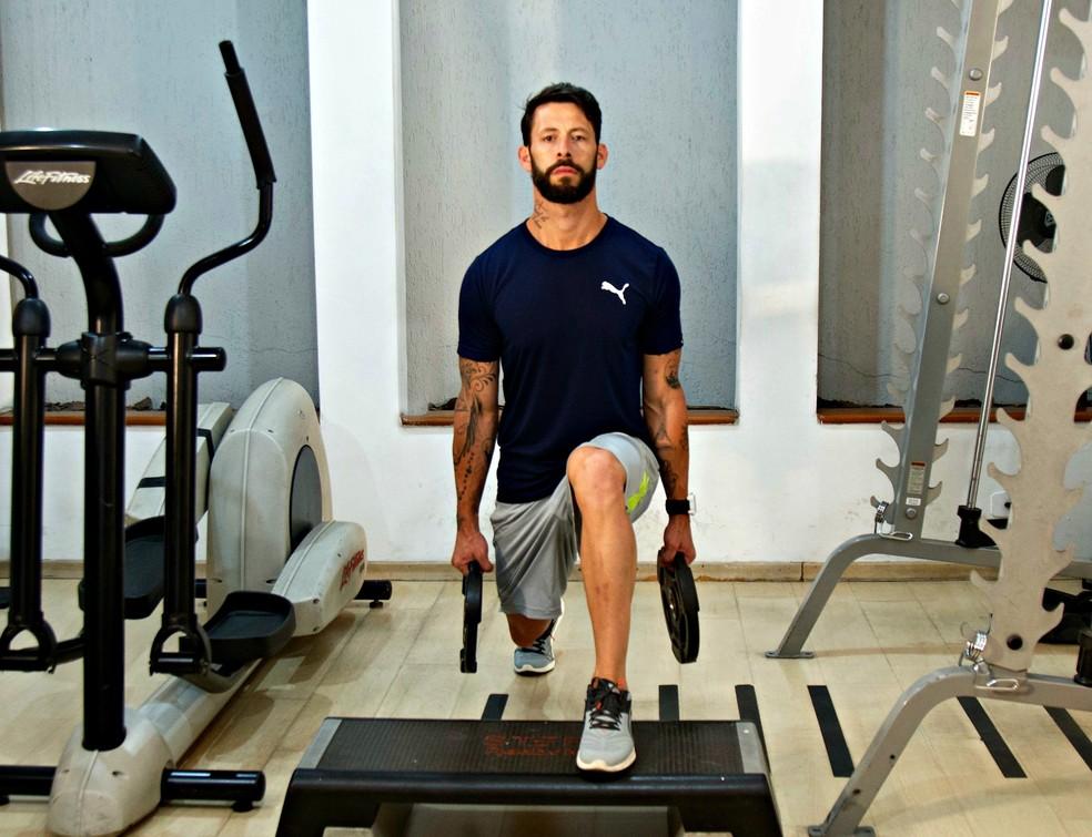Rogério é dono de um estúdio de treinos integrados em São Paulo e quer ser exemplo para seus alunos (Foto: Arquivo pessoal)