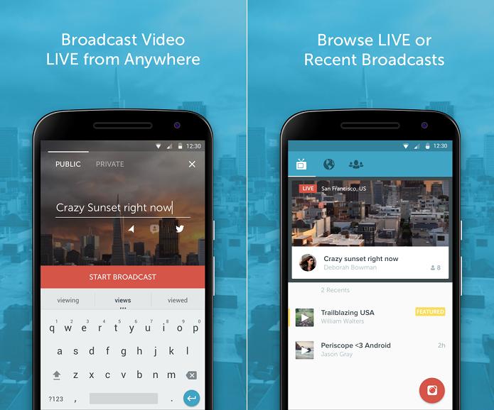 Periscope é um aplicativo super eficiente de streaming (Foto: Divulgação)