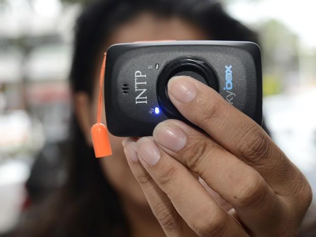 Ex aciona botão do pânico e suspeito é preso em 7 minutos no Espírito Santo (Foto: Marcos Fernandez/A Gazeta)