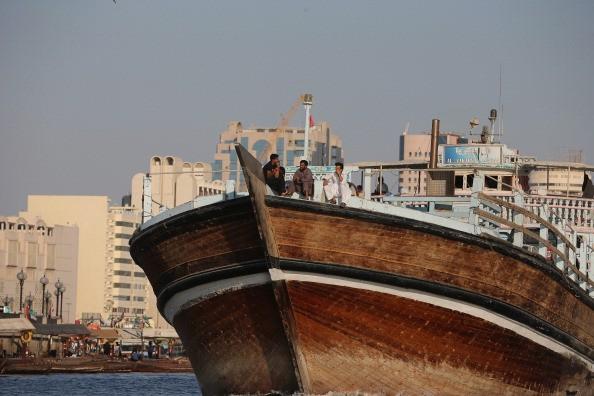 Navio cruza Dubai (Foto: Getty Images)