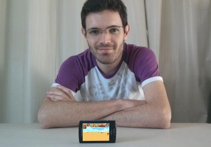 Juliano Costa, o criador de Zumbis dOeste (Foto: Arquivo Pessoal)