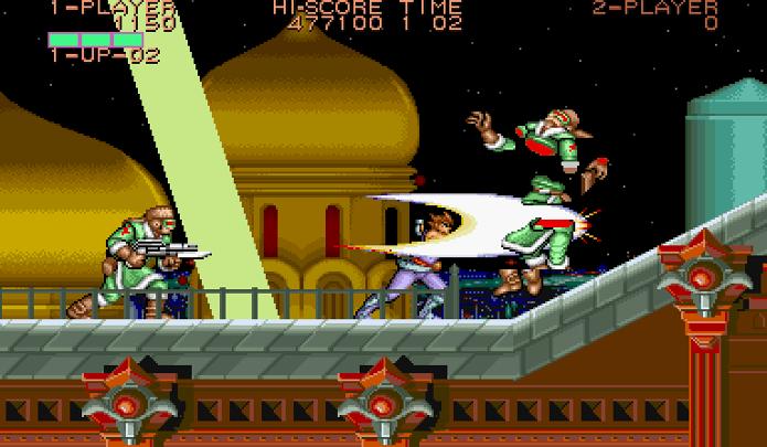 Controle um ninja em Strider (Foto: Reprodução/YouTube)
