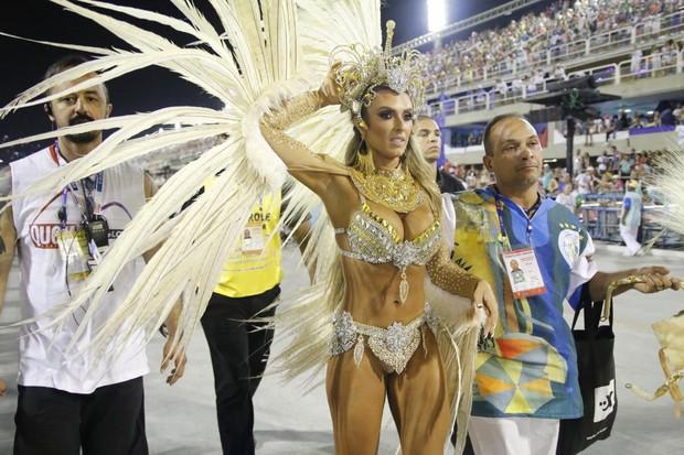 Nicole Bahs  (Foto: Daniel Pinheiro /AgNews)