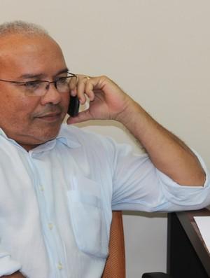 Jankel Costa, presidente do Flamengo-PI (Foto: Josiel Martins )