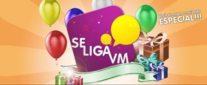Quer participar da festa de 3 anos do programa? Veja como comemorar conosco (Produo Se Liga VM)