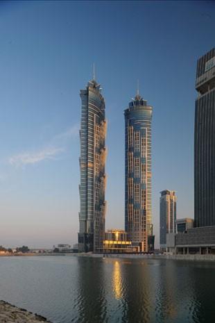 Hotel Marriot de Dubai, o mais alto do mundo (Foto: Divulgação)