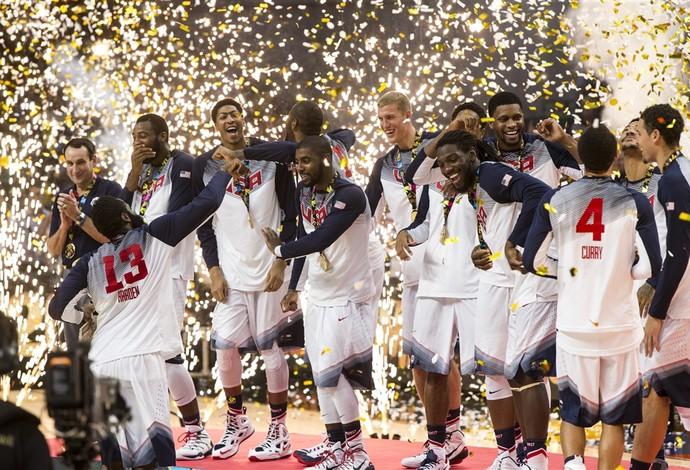 Estados Unidos ouro no Mundial (Foto: Divulgação/FIBA)