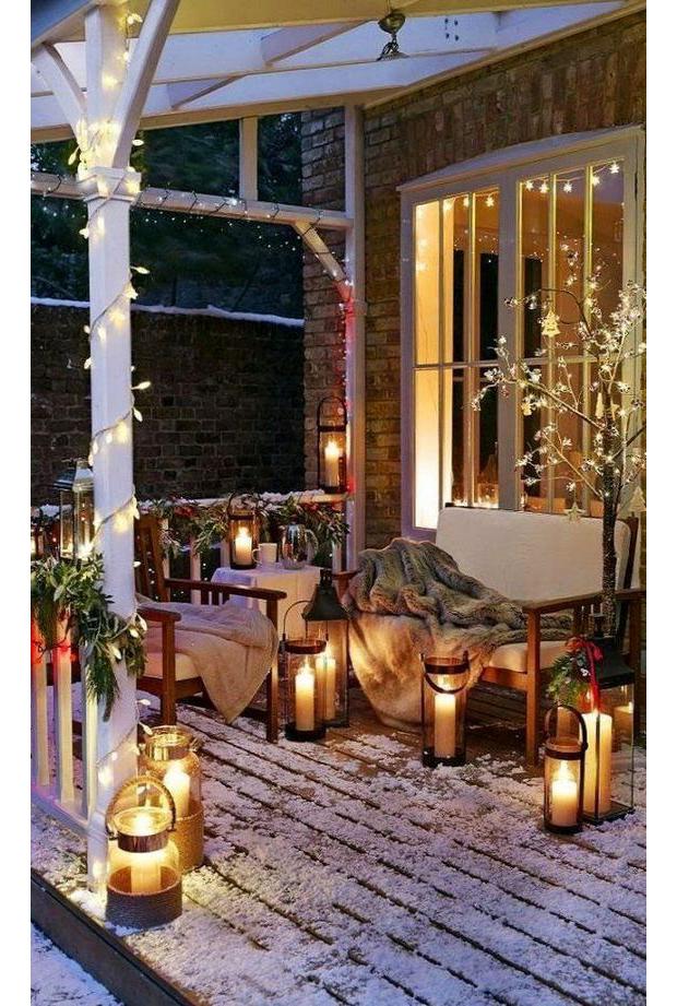 lugares-gostaria-de-estar-viagem-neve-cabine-ar-livre (Foto: Pinterest)