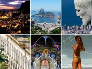 Montagem Rio (Foto: Montagem / G1)