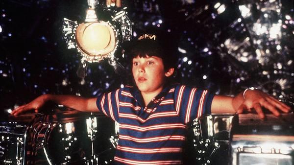 O ator Joey Cramer em cena do clássico O Voo do Navegador (1986) (Foto: Reprodução)
