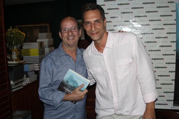 Luiz Ernesto Lacombe lança livro no RJ  (Foto: Rogerio Fidalgo / AgNews)