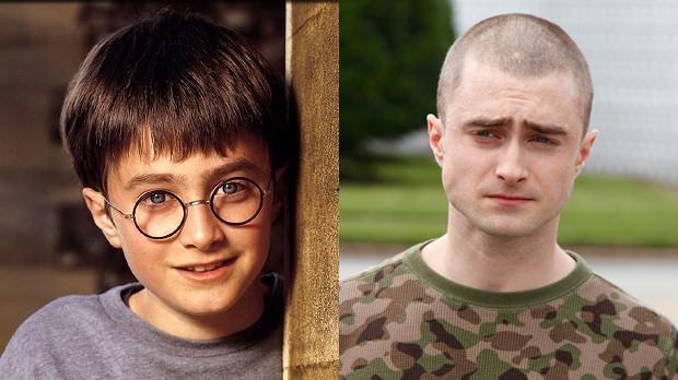 Daniel Radcliffe em Harry Potter e em Imperium (Foto: Divulgao)