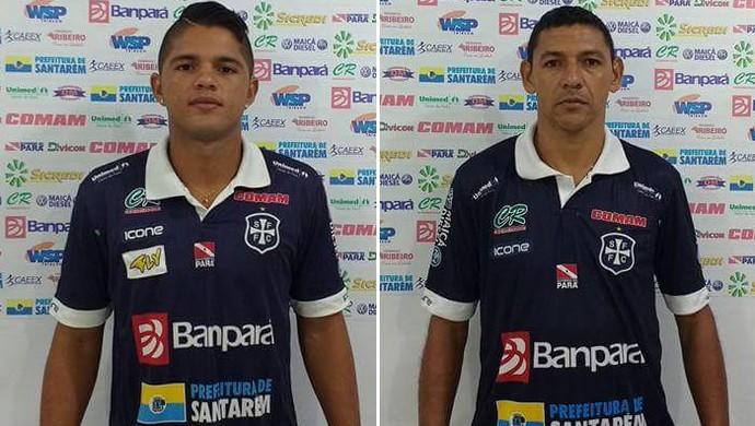Juninho e Mocajuba (Foto: Divulgação/ São Francisco F.C.)