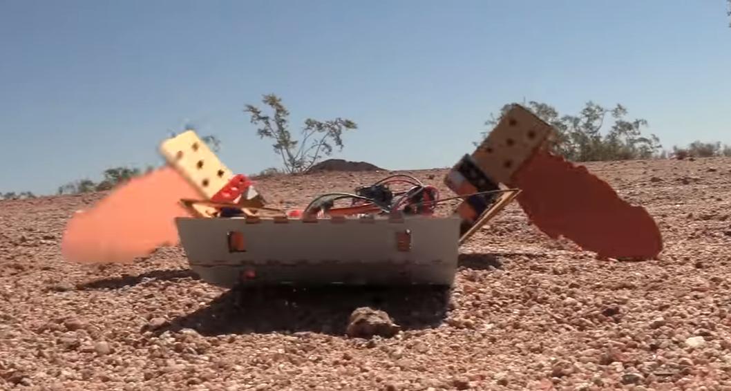 Cientistas criam robô de papelão de 70 dólares que pode ir a Marte