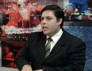 Jamilson Veras, presidente do TJDF-CE (Foto: Thaís Jorge)