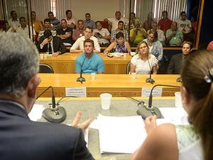 A CPI ouviu sócios de um empresa de guincho na Serra (Foto: Reinaldo Carvalho/ ALES)