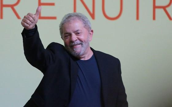 O ex-presidente Lula em novembro de 2015 (Foto: Michel Filho/Agência O Globo)