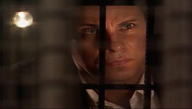 Henrique vai  cadeia falar com ngela (Foto: Reproduo/viva)