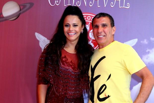 Viviane Araújo e Eri Johnson (Foto:  Anderson Borde / AgNews)