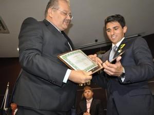 Pedro Felipe assumiu a função de juiz aos 25 anos (Foto: Roberta Rocha/Arquivo Pessoal)