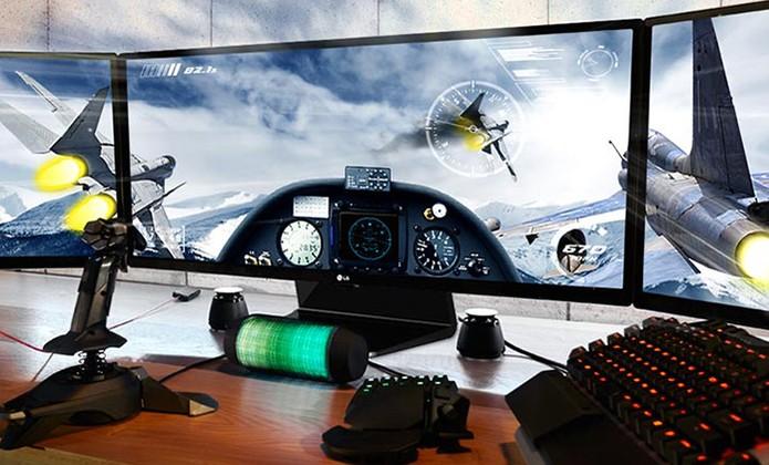 Monitor da LG tem 29 polegadas com design UltraWide (Foto: Divulgação/LG)