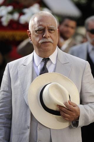 Antônio Fagundes como coronel Ramiro Bastos (Foto: Estevam Avellar / TV Globo)